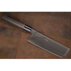 Nakiri Japanese kitchen knife Tojiro Zen Black FD-1568 16.5cm