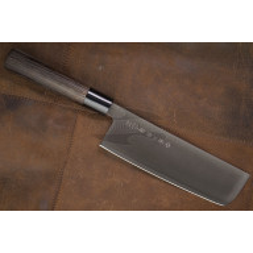 Японский кухонный нож Накири Tojiro Zen Black FD-1568 16.5см