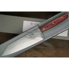 Cuchillo Japones Kiritsuke Matsubara Hamono Ginsan Damascus KTS-12 18cm