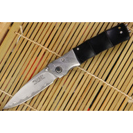 Folding knife Mcusta Zanmai Bamboo black MC-0146G 7.2cm