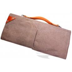 Veitsilaukku Knife To Meet You BAG-QUATTRO Brown