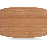 Cutting board Zeller bamboo, small oval 25251