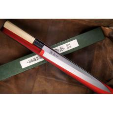 Японский кухонный нож Янагиба Sukenari 2 layers VG10 S-1016 27см