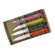 Kitchen knife set Opinel Fifties 4 Essentials Box 001452