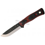 Cuchillo De Caza TOPS BOB Hunter Red/Black TPBROSRB 11.4cm
