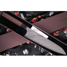 Cuchillo Japones Gyuto Yoshimi Kato Black Nickel VG-10 D-1906 24cm