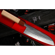 Santoku Japanese kitchen knife Ittetsu Tadafusa OEM IS-43 16.5cm