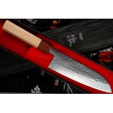 Японский кухонный нож Сантоку Ittetsu Tadafusa OEM IS-43 16.5см