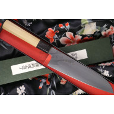 Santoku Japanese kitchen knife Sukenari Aogami Super S-410 19cm