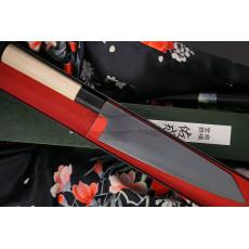 Японский кухонный нож Киритсуке Sukenari Aogami Super S-417 21см