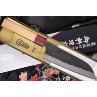 Santoku Japanese kitchen knife Kajibe KJB-001 16.5cm