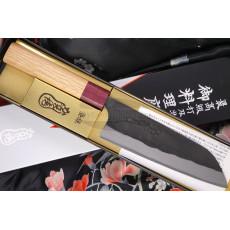Японский кухонный нож Сантоку Kajibe KJB-001 16.5см