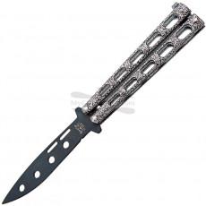Training knife Bear&Son Silver Powder Coat 115TR 8.5cm