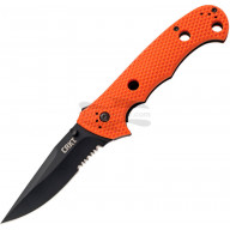 Sahalaitainen kääntöveitsi CRKT Hammond Cruiser Orange Black 7914ORB 9.5cm