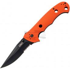 Wellenschliffmesser CRKT Hammond Cruiser Orange Black 7914ORB 9.5cm
