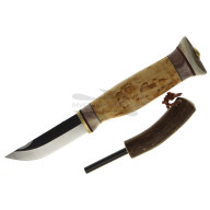 Finnish knife Wood Jewel Carving knife with firestick 23J 7.7cm