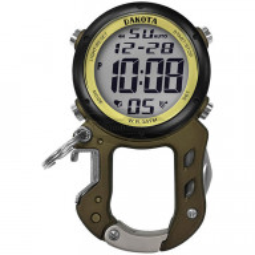 Часы Dakota Zip Clip Digital Зеленые 3099
