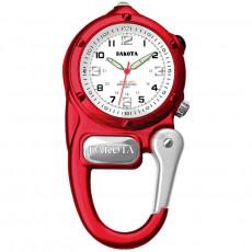Часы Dakota Mini Clip Microlight Красный, с клипсой 3879