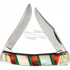 Складной нож Rough Rider Christmas Moose 2199 8.2см