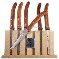 Cuchillo Chuletero Claude Dozorme Set of 6 pcs Wood 2.40.003.51