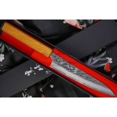 Japanese kitchen knife Yu Kurosaki Fujin VG10 Damascus Petty ZVD-150PE 15cm