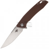 Складной нож Bestech Spike Stonewash Satin Brown BG09C-2 9.5см