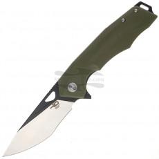 Складной нож Bestech Toucan Black satin Green G-10 BG14B-2 9.5см