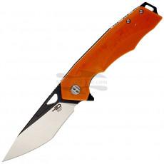 Складной нож Bestech Toucan Black satin Orange G-10 BG14D-2 9.5см