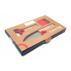 Детский нож Opinel Le Petit Chef Set (набор) OO1746 10см - 2