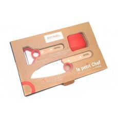 Детский нож Opinel Le Petit Chef Set (набор) OO1746 10см - 3
