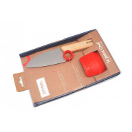 Kid's knife Opinel Le Petit Chef & Fingers Guard set OO1744 10cm