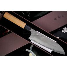 Santoku Japanisches Messer Yoshimi Kato Aogami super D-503 16.5cm