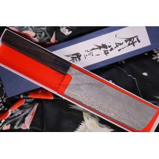 Japanilainen vihannesveitsi Nakiri Shiro Kamo SG2 G-7504 16.5cm