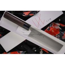 Nakiri Japanese kitchen knife Gihei Hamono SLD GH-301 16.5cm