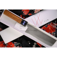 Cuchillo Japones Nakiri Gihei Hamono Aogami 2 GH-401 16.5cm