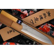 Gyuto Japanese kitchen knife Gihei Hamono Aogami 2 GH-404 21cm