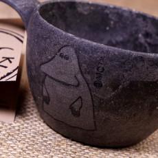 Kupilka 12 Moomin Groke Cup Black M1255RO 3012LM554