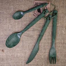 Kupilka Cutlery set 4 pcs Green KCUTGO 30250252