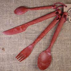 Kupilka Cutlery set 4 pcs Red KCUTRO 30250253