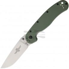 Kääntöveitsi Ontario Rat-1 D2 OD Green 8867OD 9cm