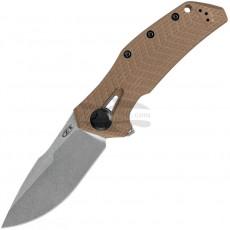 Folding knife Zero Tolerance KVT Coyote Tan 0308 9.5cm