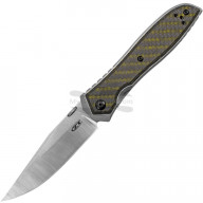 Folding knife Zero Tolerance Emerson Titanium CF Green 0640 9.6cm