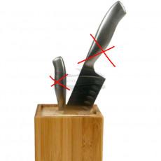 Veitsiteline Zeller Neliö veitsitukki Bambu