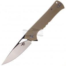 Складной нож Bestech Muskie Black stonewash Beige G-10 BG20C-2 9.1см