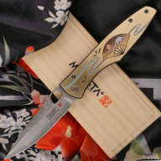 Складной нож Mcusta Zanmai Platinum Four Seasons Summer Fuji MCVP-004 9.2см