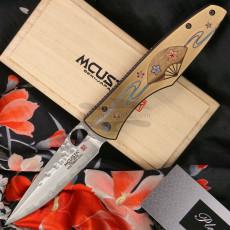 Folding knife Mcusta Zanmai Platinum Four Seasons Spring Sakura MCPV-003 9.2cm