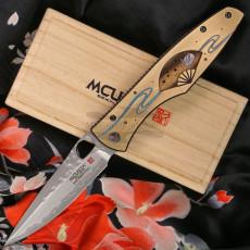 Folding knife Mcusta Zanmai Platinum Four Seasons Winter Rabbit MCVP-006 9.2cm
