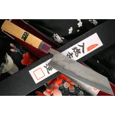 Cuchillo Japones Kiritsuke Goko Hamono Shirogami S/S Clad GHO-009 20cm