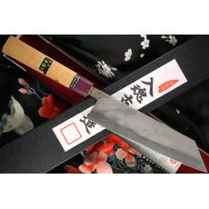 Японский кухонный нож Киритсуке Goko Hamono Shirogami S/S Clad GHO-009 20см