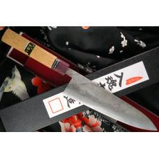 Japanilainen kokkiveitsi Gyuto Goko Hamono Shirogami S/S Clad GHO-006 21cm